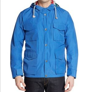 Gant Rugger Hiker Hooded Jacket, Azure Blue, M